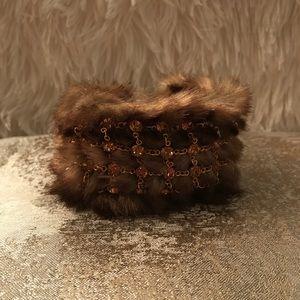 Swarovski Fur Bracelet
